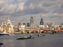 London Town Stock Photography