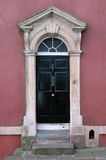 London Town House Front Door Royalty Free Stock Photos