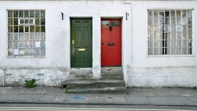London Town Houses. Exterior of of London Town Houses Royalty Free Stock Images