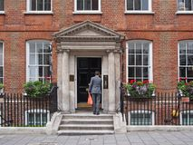 London, townhouse in St. James district Stock Photography