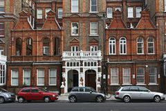 London townhouses Royalty Free Stock Photography