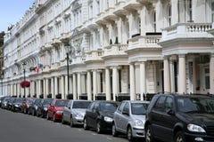 London townhouses Royalty Free Stock Photos