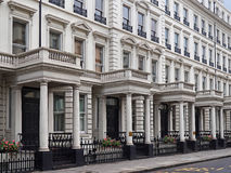 London townhouses Stock Image