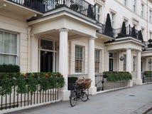 London townhouses Stock Image