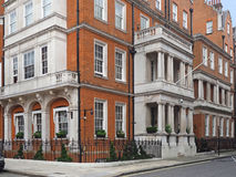 London townhouses Stock Images