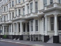 London townhouses Stock Photos