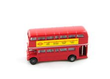 London Toy Bus Stock Image