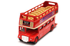 London toy bus Stock Photos