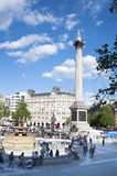 London-Trafalgar-Platz Lizenzfreies Stockbild