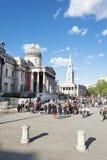 London-Trafalgar-Platz Stockfotografie