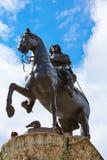 London Trafalgar Square King Charles I Stock Photography