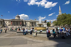 London - Trafalgar square Royalty Free Stock Photography