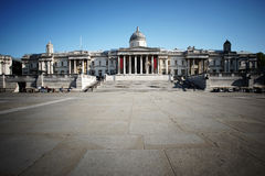 London Trafalgar Square Stock Photography