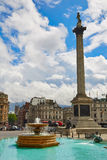 London Trafalgar Square in UK Royalty Free Stock Photography