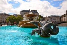 London Trafalgar Square in UK Royalty Free Stock Photos