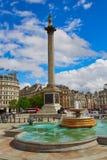 London Trafalgar Square in UK Royalty Free Stock Image