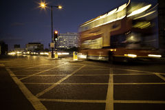 London traffic Royalty Free Stock Photos