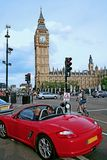 London traffic Royalty Free Stock Photo