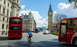 London traffic Royalty Free Stock Images