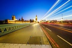 london trafik royaltyfri foto