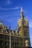 London Train Station in England Royalty Free Stock Photo