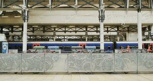 London Train station Paddington stock video