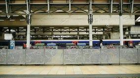 London Train station Paddington stock footage