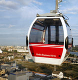 London Transport Emirate Air Line, London Thames Cable Car Royalty Free Stock Photo