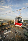 London Transport Emirate Air Line, London Thames Cable Car Stock Photography