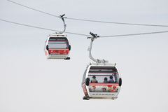 London Transport Emirate Air Line, London Thames Cable Car Stock Photos