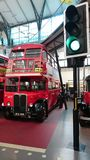 London transport museum - english double decker Stock Images