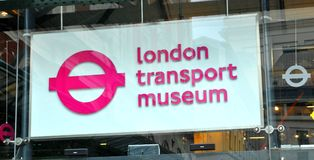 London Transport Museum Stock Image