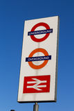 London Transport Sign Royalty Free Stock Image