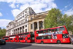 London transportation Stock Image