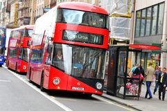 London transportation Royalty Free Stock Photo