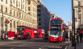 London-Transportbusse Lizenzfreies Stockfoto