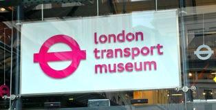 London transportmuseum Fotografering för Bildbyråer