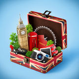 London traveling concept Royalty Free Stock Photos