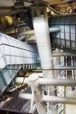 London tube, Canary Wharf station, Royalty Free Stock Photography
