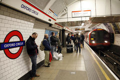 London Tube, Oxford Circus Royalty Free Stock Photo