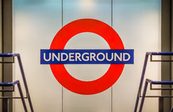 London tube sign Stock Images