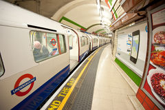 London Tube Station Stock Photo