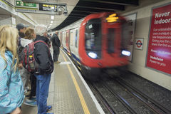 London Tube station Stock Photography