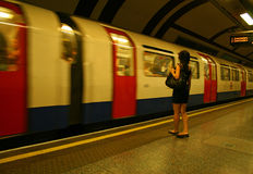 London Tube Royalty Free Stock Image
