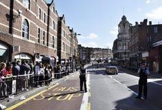 London tumultefterdyning, Clapham föreningspunkt Arkivbilder