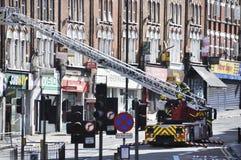 London tumultefterdyning, Clapham föreningspunkt Royaltyfria Foton