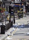 London tumultefterdyning, Clapham föreningspunkt Fotografering för Bildbyråer