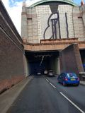 Limehouse tunnel royalty free stock images
