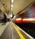London tunnelbana Fotografering för Bildbyråer