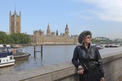 london turist royaltyfri fotografi